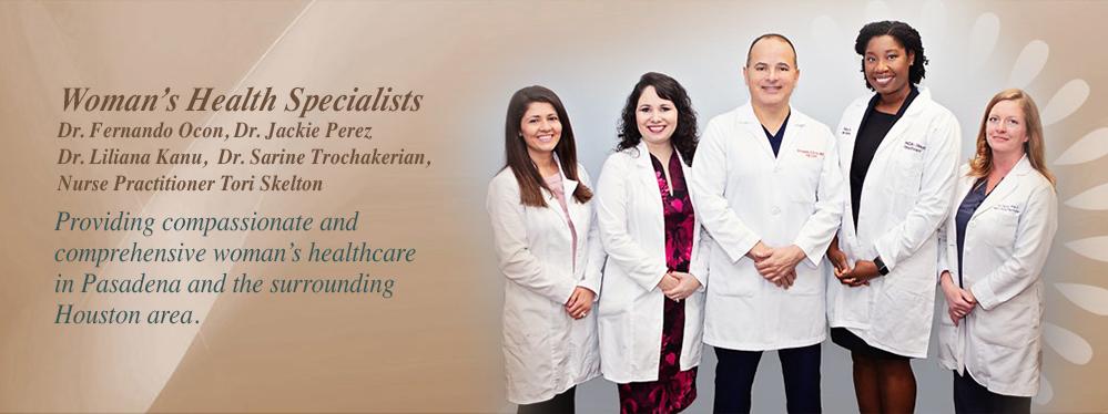 Women's Health Specialists | Pasadena, TX | Pasadena ObGyn